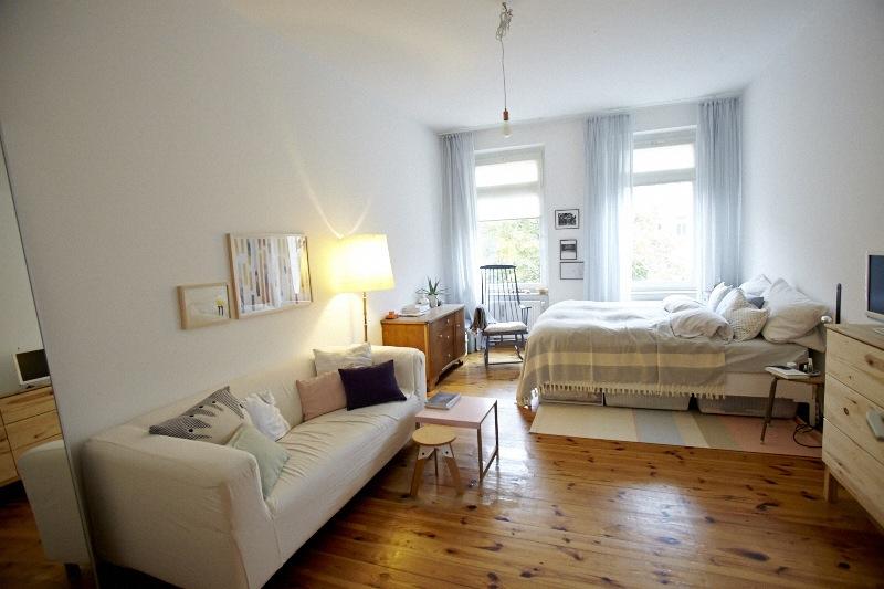 Tiny Berlin Schlafen Im Zweiten Raum Kombiniert Anne Wohnzimmer