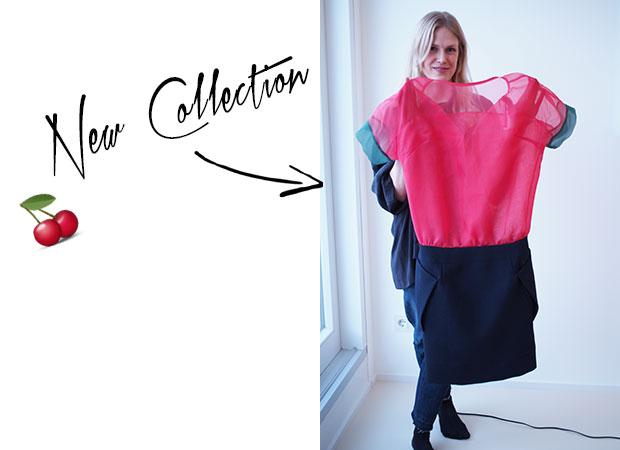Margits Lieblingskleid aus ihrer neuen Kollektion.
