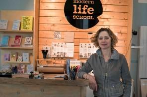 Pia Schaf und ihre moderne Schule fürs Leben