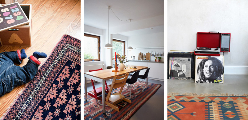interior trend bunte teppiche femtastics. Black Bedroom Furniture Sets. Home Design Ideas