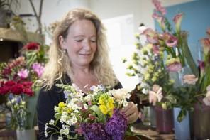 Alles dufte – Floristin Sabine Bonsack von der Grünen Flora