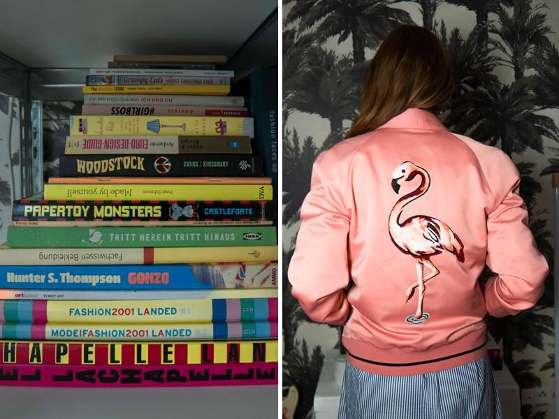 Femtastics-Alexandra-Springer-Tres-Click-Flamingojacke