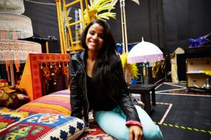 Traumrolle im Musical Aladdin: Myrthes Monteiro aka Jasmin
