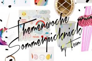 Themenwoche-Sommerpicknick-Deko