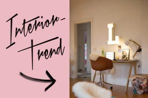 Interior-Trend: Leuchtbuchstaben