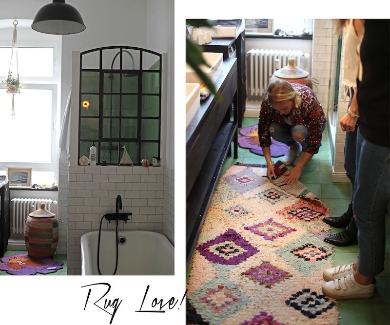 Berberlin-Teppiche-Badezimmer