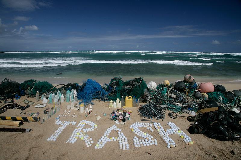 Greenpeace-Trash