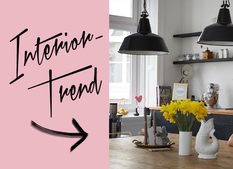 interior trend industrielampen femtastics. Black Bedroom Furniture Sets. Home Design Ideas