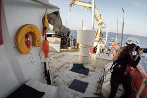 Einsatz auf der Sea-Watch 2 – Fotojournalistin Judith Büthe