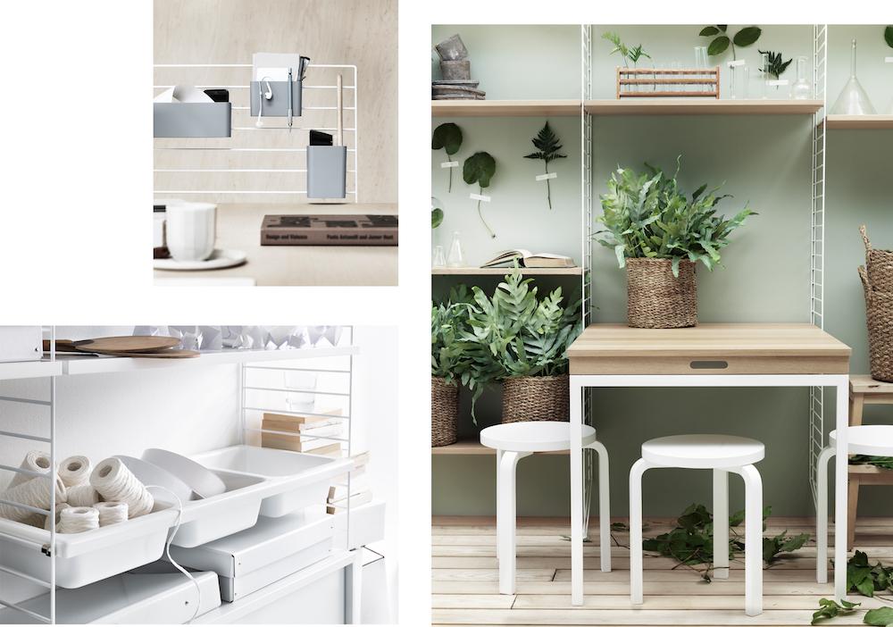 interior trend das string regal femtastics. Black Bedroom Furniture Sets. Home Design Ideas