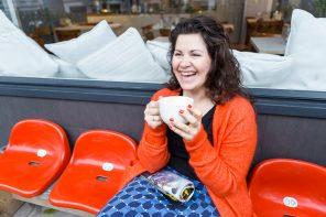 Yasmina Foudhaili bewirtet Eimsbüttel im Osterdeich Café & Catering