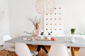 Lea Taaks veranstaltet Secret Dinner in ihrem Zuhause