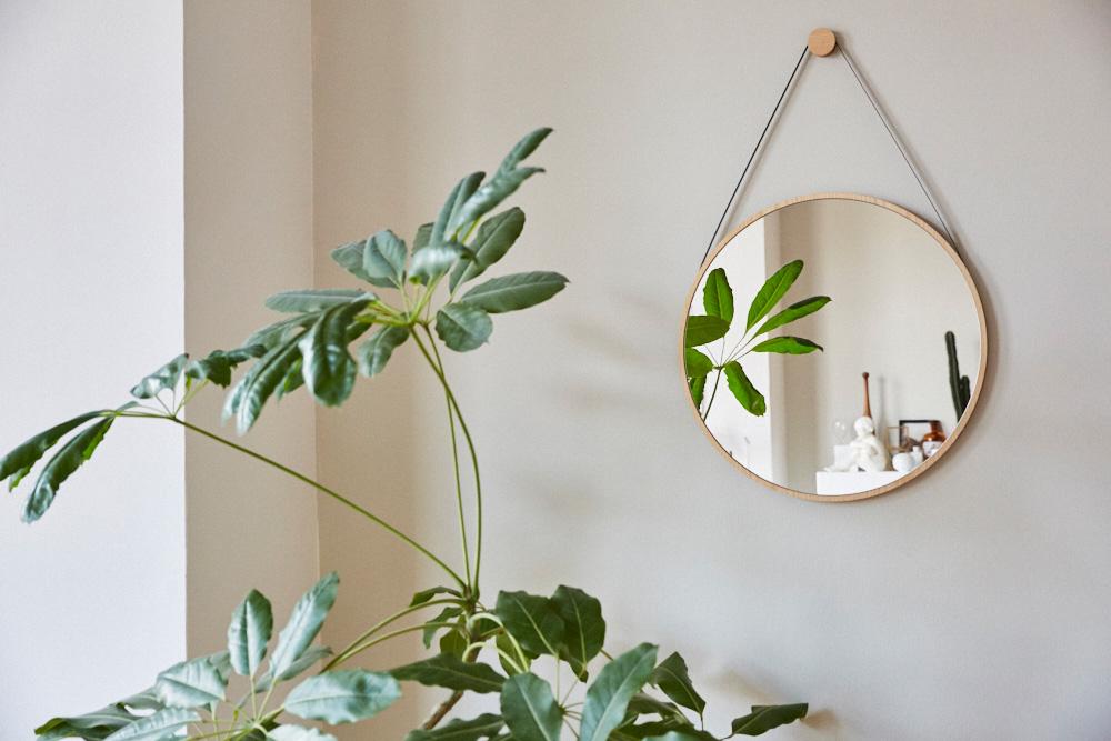 interior trend runde wandspiegel femtastics. Black Bedroom Furniture Sets. Home Design Ideas