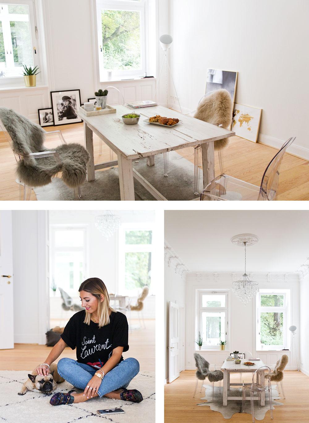 achtung wohnneid bloggerin aylin k nig zeigt uns ihr zuhause femtastics. Black Bedroom Furniture Sets. Home Design Ideas