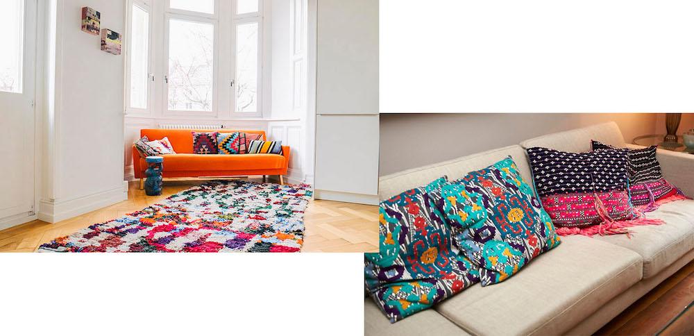 interior trend bunte kissen femtastics. Black Bedroom Furniture Sets. Home Design Ideas
