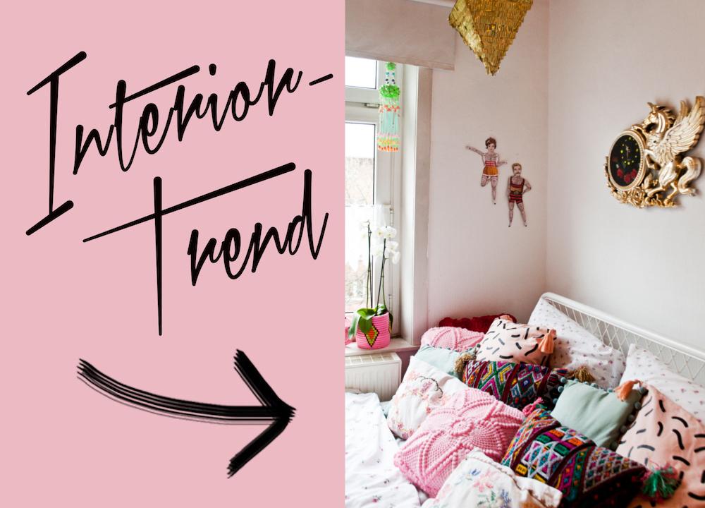 Interior Trend Bunte Kissen Femtastics