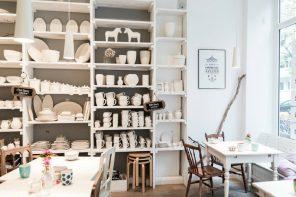 Hier könnt ihr in Hamburg Keramik bemalen!