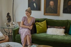 A New York Girl in London: Kelly Vittengl vom Teppich-Label Frances Loom