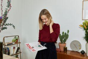 Plötzlich Chefredakteurin: Corinna Siepenkort vom BLONDE Magazin