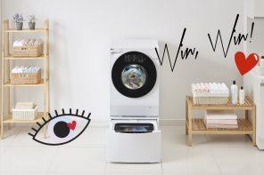 Gewinnt eine LG TWINWash Waschmaschine