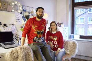 Meet the Christmas Couple: Hallo, Siiri & Omid!