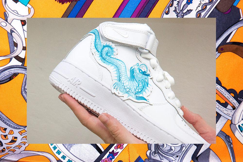 Ist Die Custom Der Tornschuhjette SneakerFemtastics Königin 8OPnXw0k