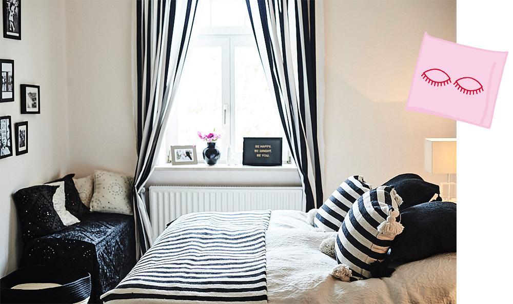 13 Schlafzimmer Schwarz Weiss