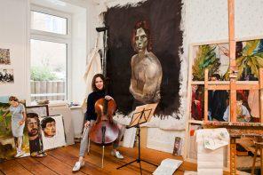 """""""Investiert in junge Kunst!"""" – Malerin und Cellistin Clara Lotta Dittmer"""