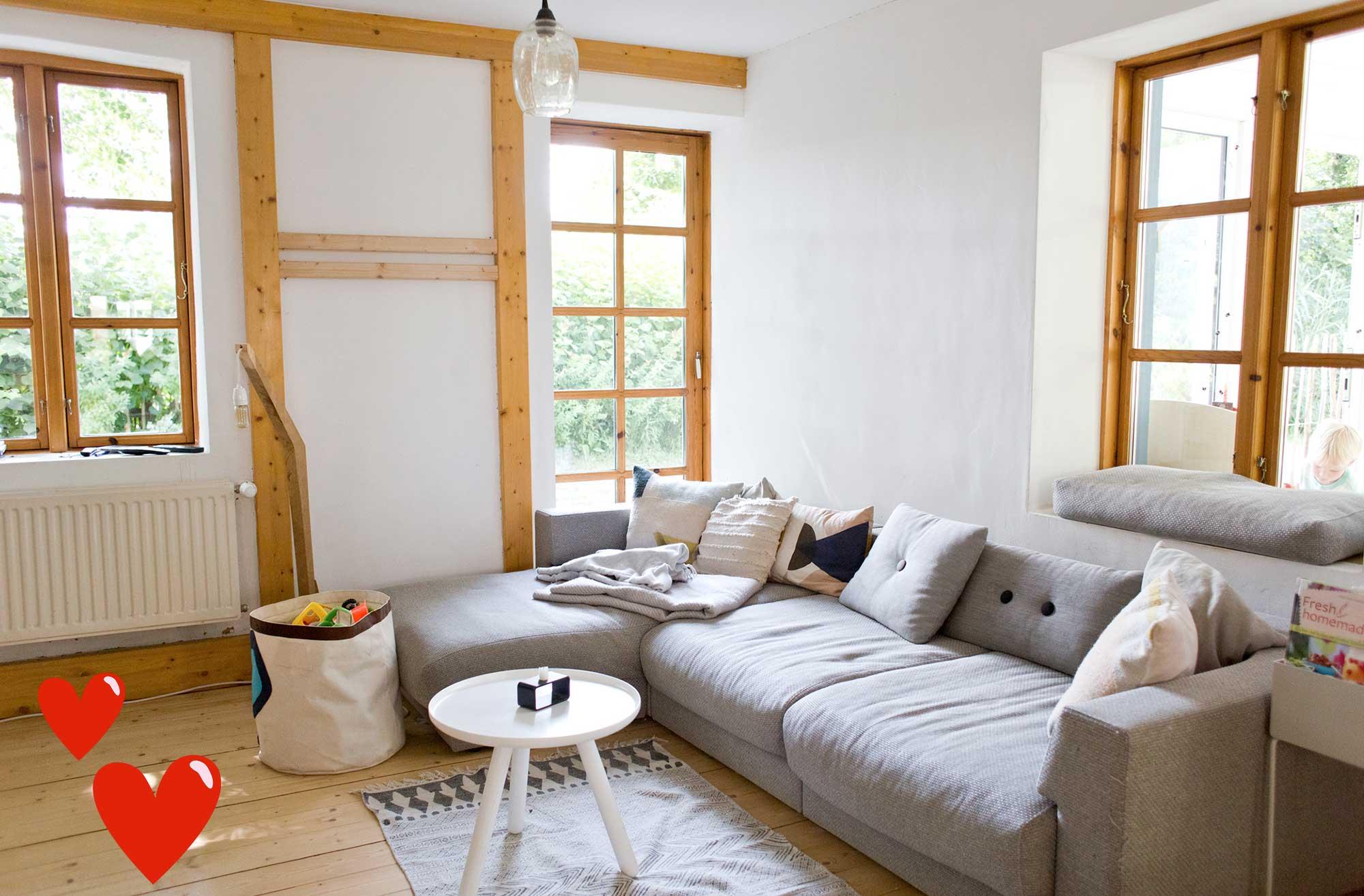 Einrichtung-skandinavisch-Wohnzimmer