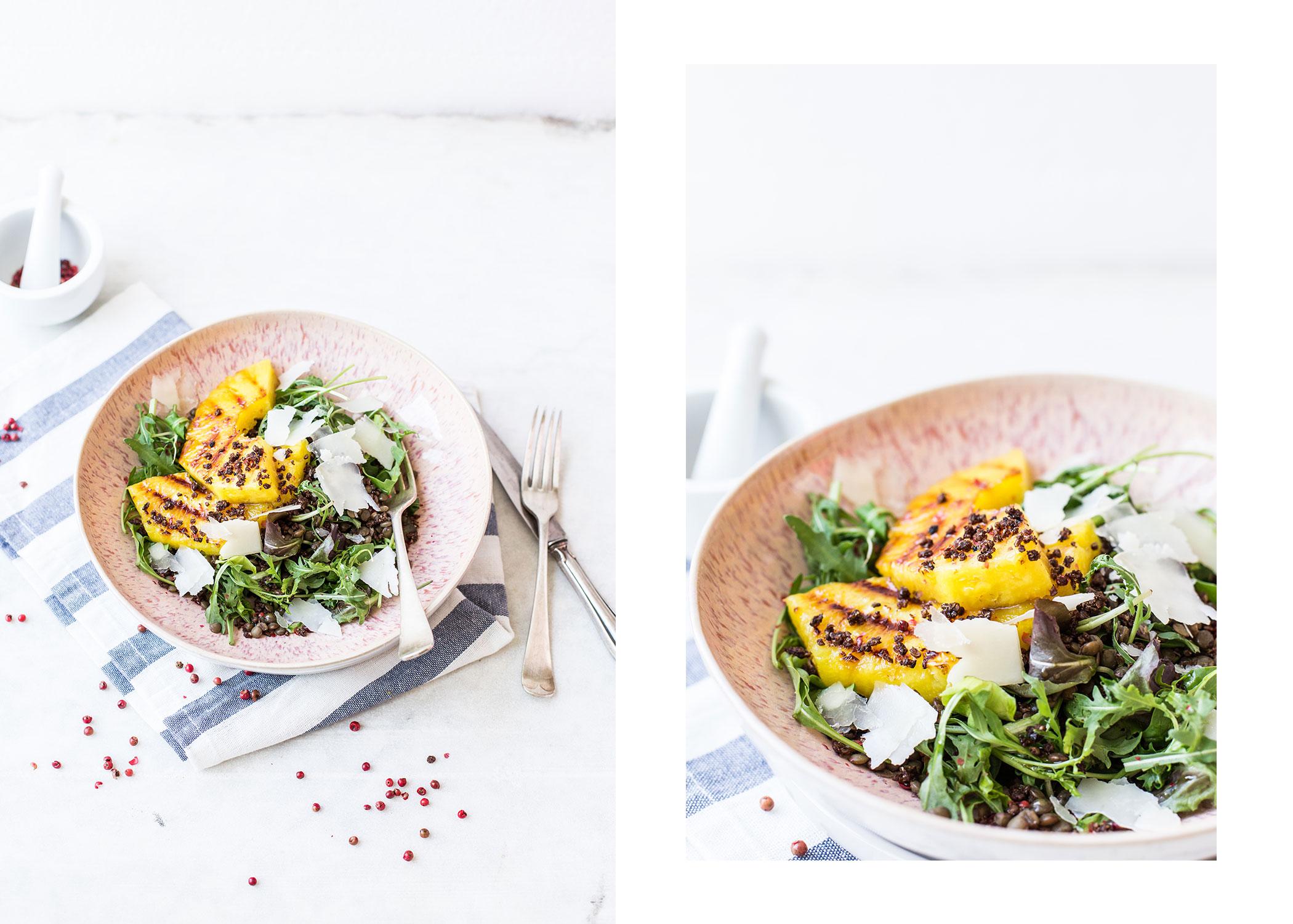 femtastics-Sommersalat-gegrillte-Ananas