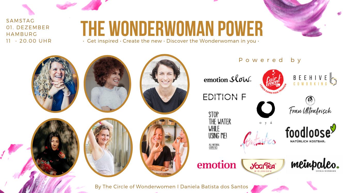 femtastics ist stolzer Medienpartner von The Wonderwoman Power. Credit: The Circle of Wonderwomen