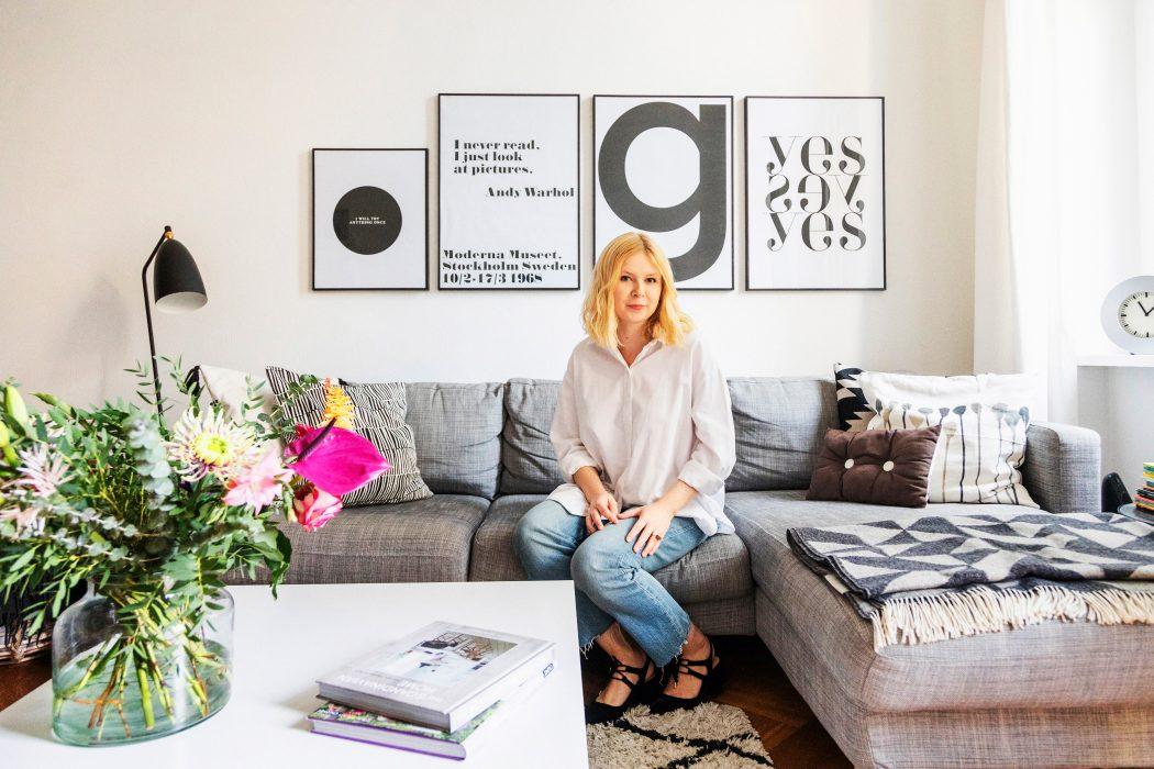 Kathi Gräfe lässt uns fast täglich per Instagram an ihrer Interior-Leidenschaft teilhaben. Credit: Valerie Schmidt