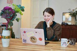 """Hallo """"Beige""""! Lisa Trautmann mischt das Onlinebusiness auf"""