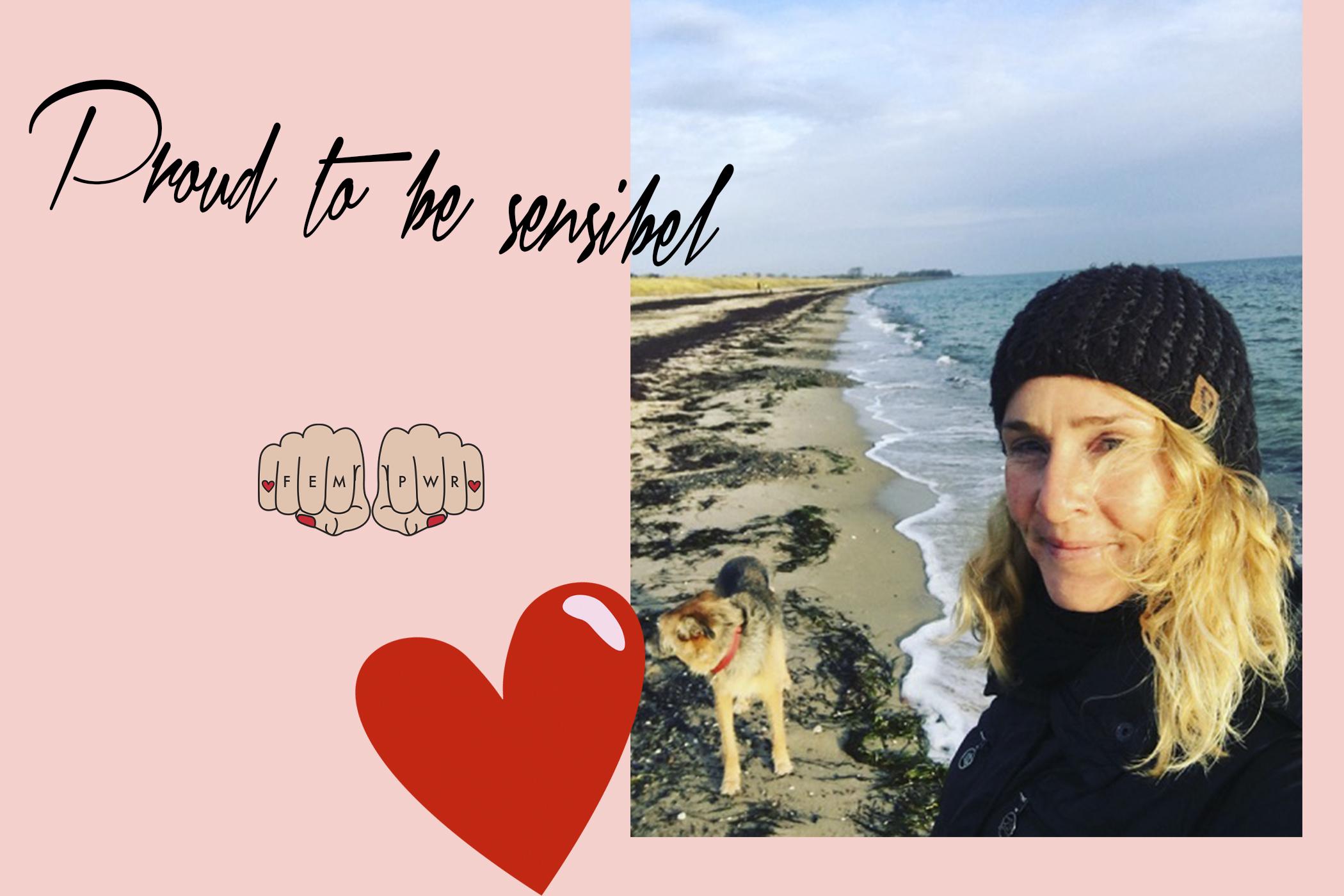 Die 48-jährige Nina Miltner bietet Coachings für feinfühlige und hochsensible Menschen an. Credit: Der weiße Hund