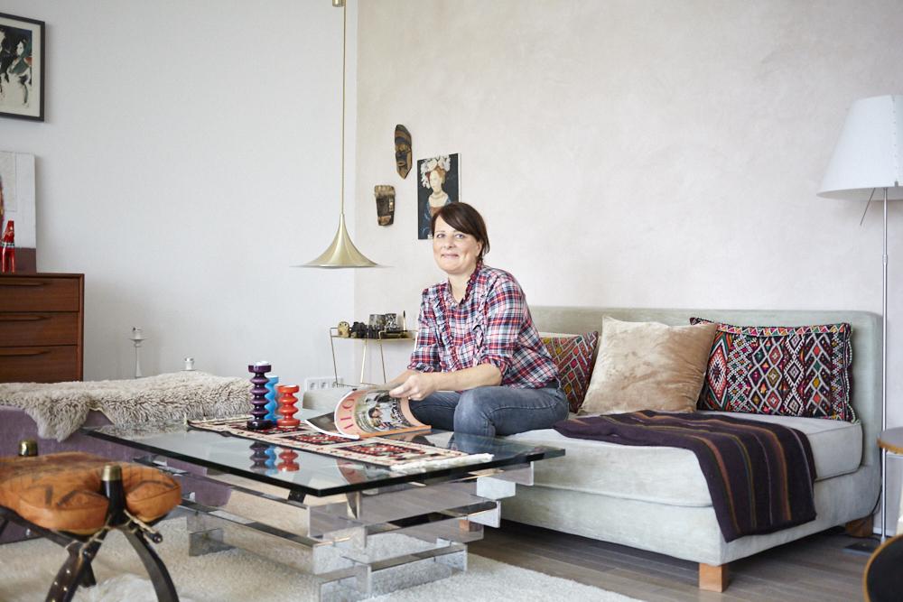 Die Interior-Expertin Katrin Hoffmann gründete ihren Onlineshop Moovi und gibt uns tolle Einrichtungstipps. Credit: Nassim Ohadi