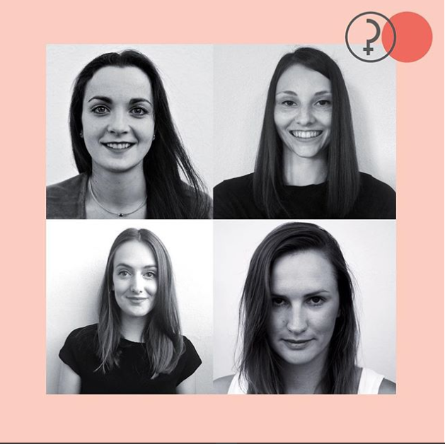 Das sind Anika, Annika, Joyce und Lea vom Podcast #perspectives, den es jetzt wöchentlich zu hören gibt. Credit: Perspectives - Der Podcast