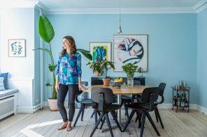 Eine Wohnung aus Secondhand-Teilen: Sofie von @thusthefuss