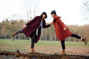Starkes Schwestern-Duo: Anna und Sophia Wahdat halten die Balance