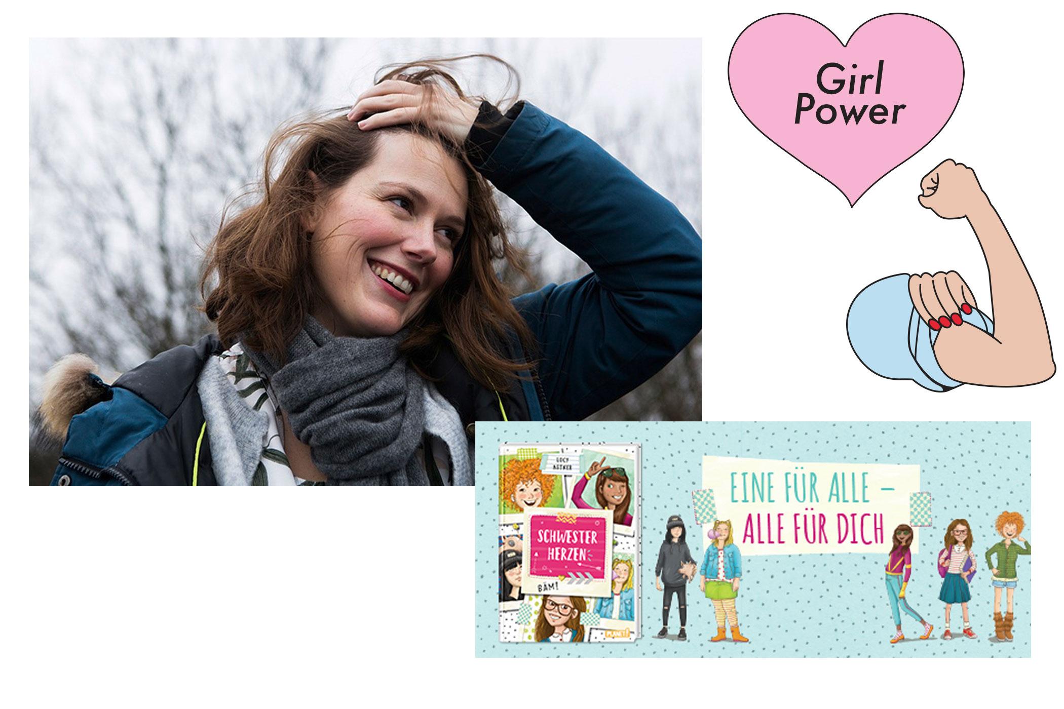 Lucy Astner hat schon in einer Homestory über ihren Job als Drehbuchautorin gesprochen. Am 15. Januar erschien ihre neue Kinderbuchreihe. Credit: femtastics