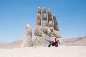 Lea Rieck: Allein mit dem Motorrad um die Welt
