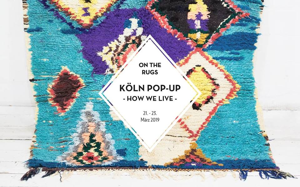 On the Rugs im Köln Pop-Up Store How we live