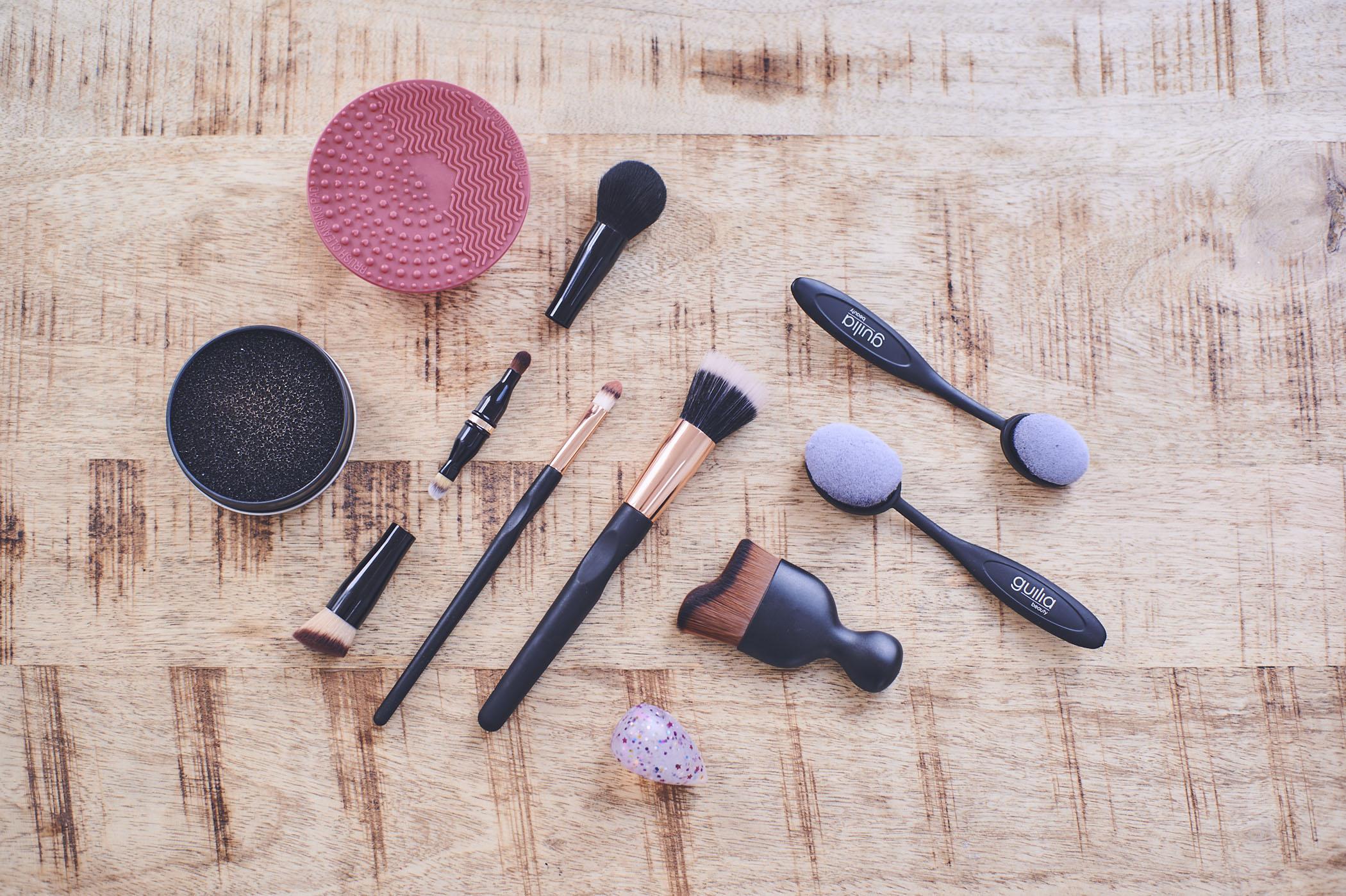 Ab September erhältlich: Verschiedene neue Pinsel und Beauty-Tools von Guilia.