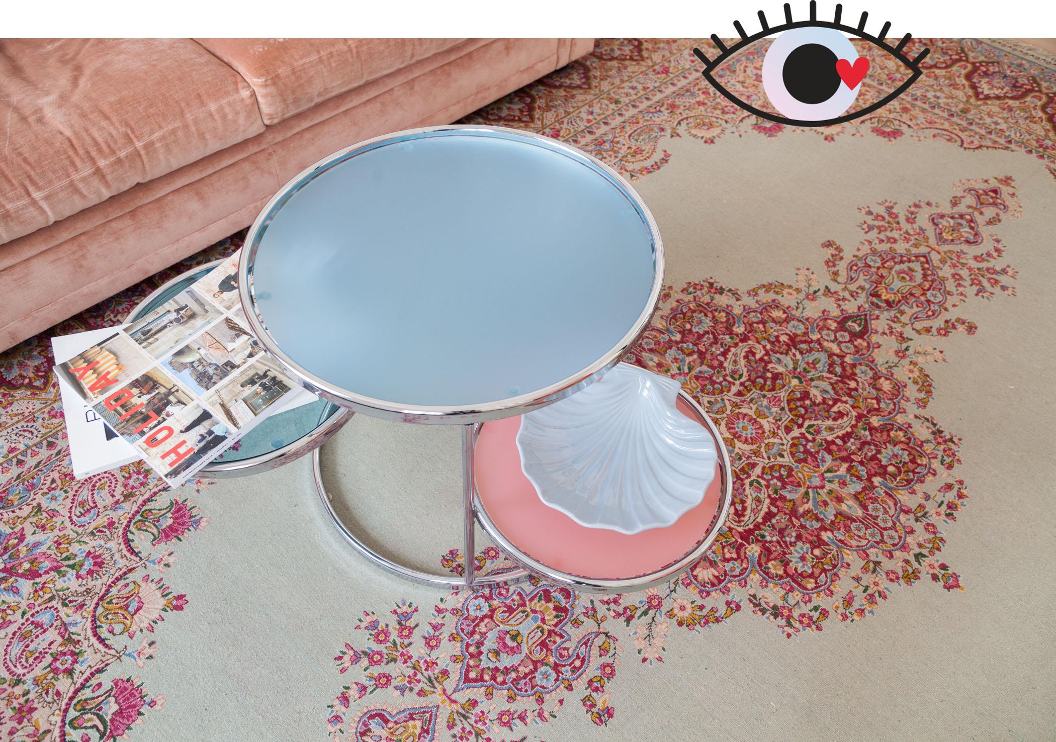 Tisch-Pastell-Vintage