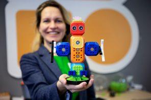 """Anna Iarotska macht mit """"Robo Wunderkind"""" Kinder fit für die Welt von morgen"""