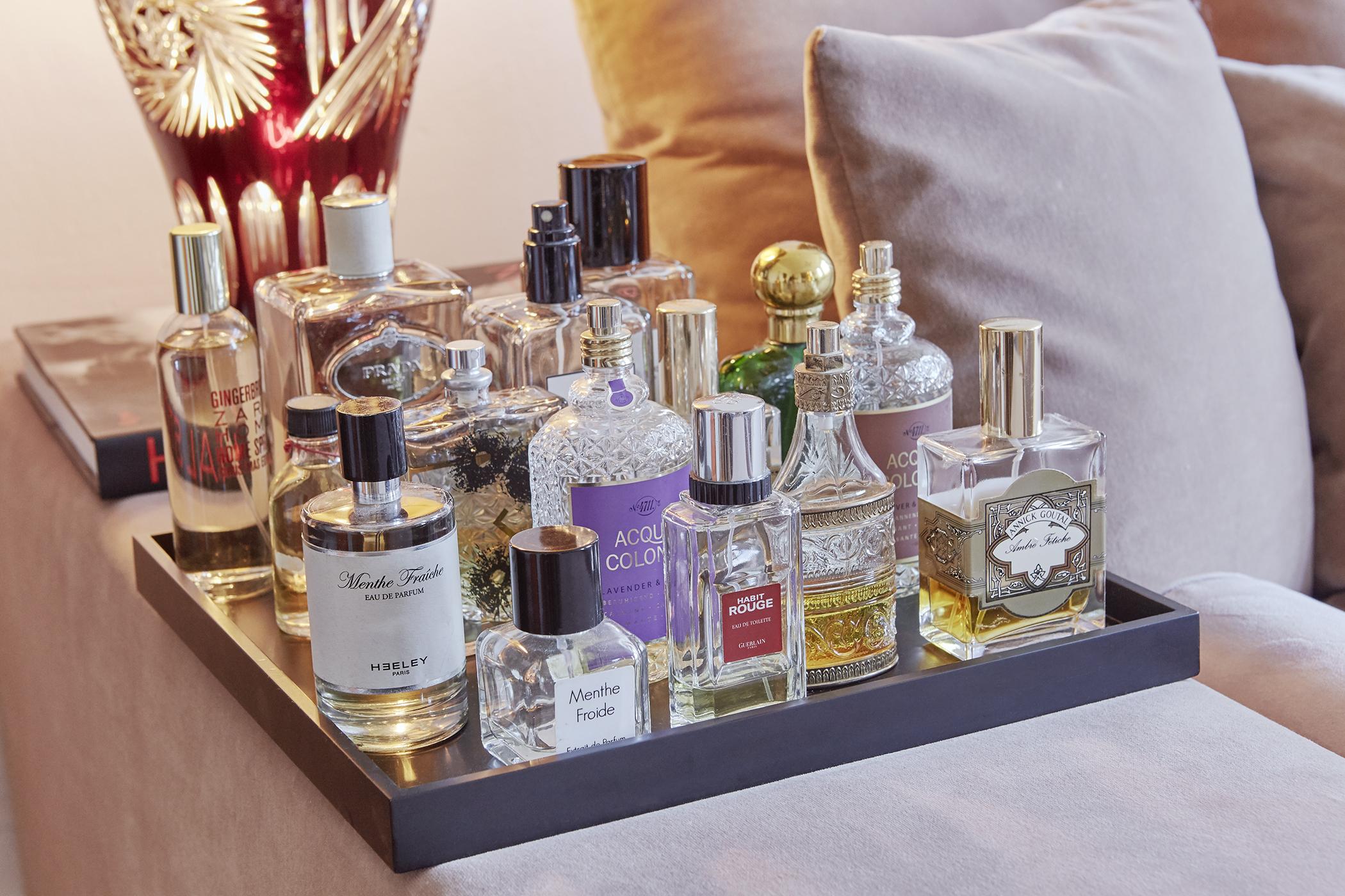 Parfums-sammeln
